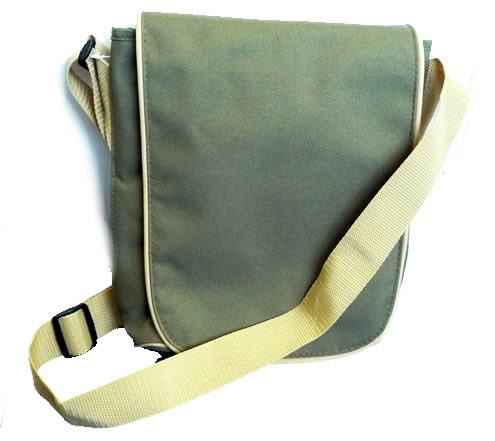 Slim Flapover Ministry Bag
