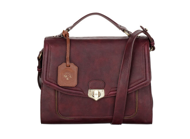 NICA  Ministry Meeting Satchel  - WINE