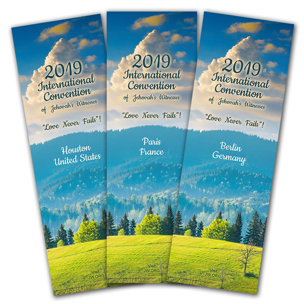 2019 International Convention Bookmark Gifts-Pack of 250 - Phoenix United  States