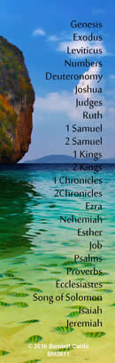 BOOKMARKS - Pack of 10 - Bible Books
