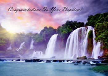 GREETINGS CARD - BAPTISM