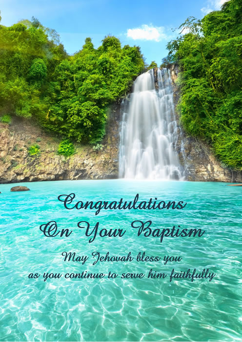Greeting cards baptism jehovahs witness theocratic ministry bennett cards greeting cards baptism greeting cards baptism m4hsunfo
