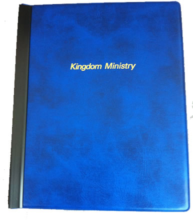 SECONDS - KINGDOM MINISTRY FOLDER