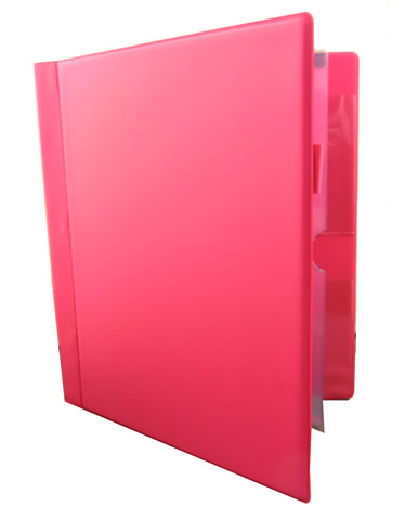 Literature Organiser - Magazine, Tract and Ministry Folder - Older Version  - Pink