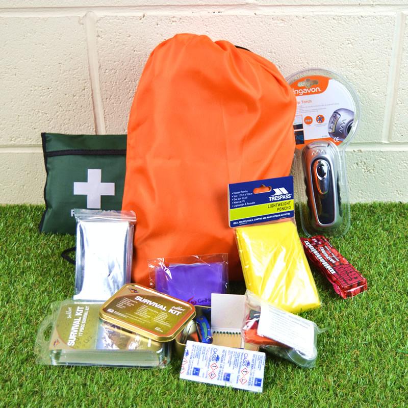 Emergency 1 Person Starter Go/Grab Bag