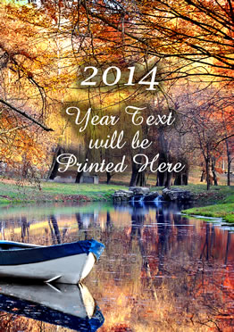 2014 Fridge Magnet. Quality Fridge Magnet with 2013 Year Text. Limited