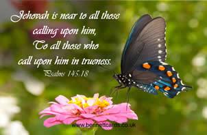 FRIDGE MAGNET - Psalms 145:18\ width=