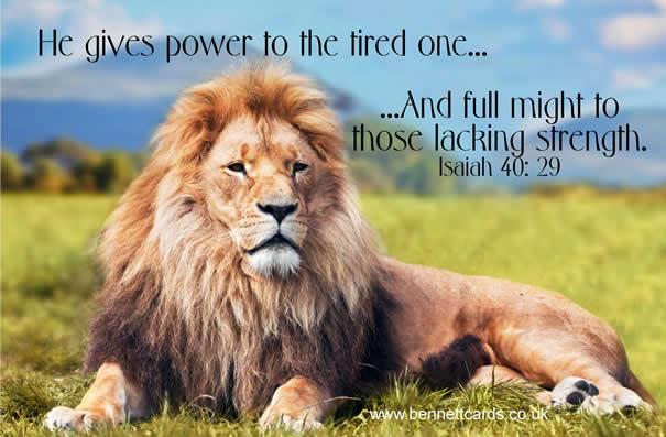 Fridge Magnet - Isaiah 40:29