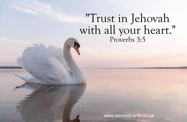 Fridge Magnet - Proverbs 3:5