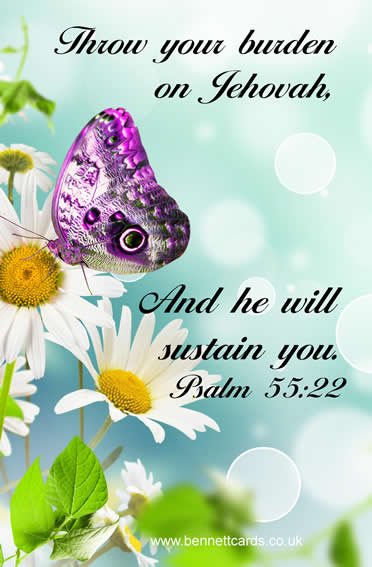 Fridge Magnet - Psalms 55:22\ width=