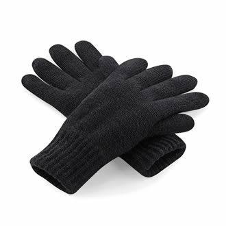 Classic Thinsulate™ gloves  - BLACK - Medium