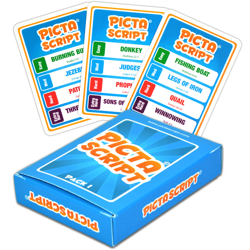 PICTASCRIPT - The Bible Based Quick Draw Card Game
