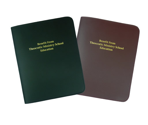 LEATHER COVER - TMS BOOK