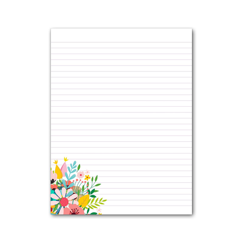 Letter Writing Pad - Design #1  - Notepad Only