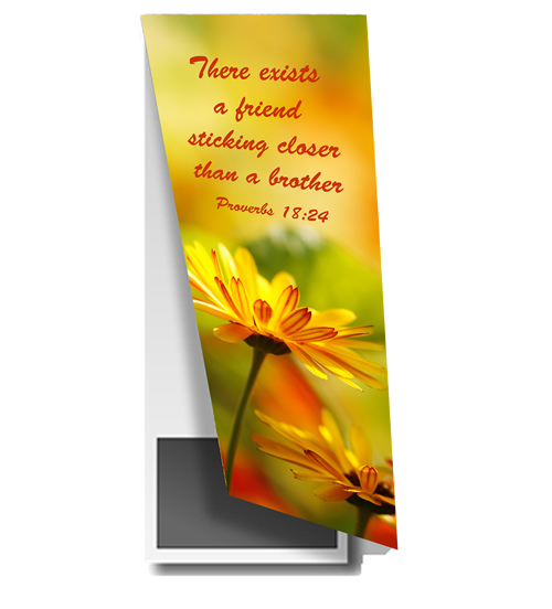 Magnetic Bookmarks - Proverbs 18v24\ width=