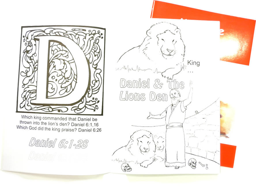 Bible Colouring Book - For Children