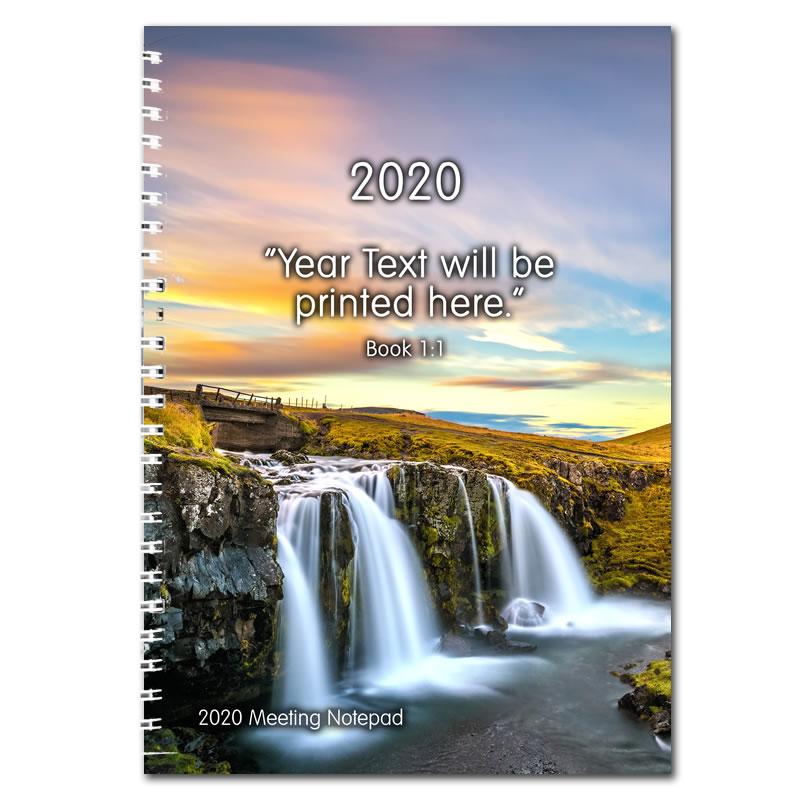 2020 Theocratic Meetings Notepad