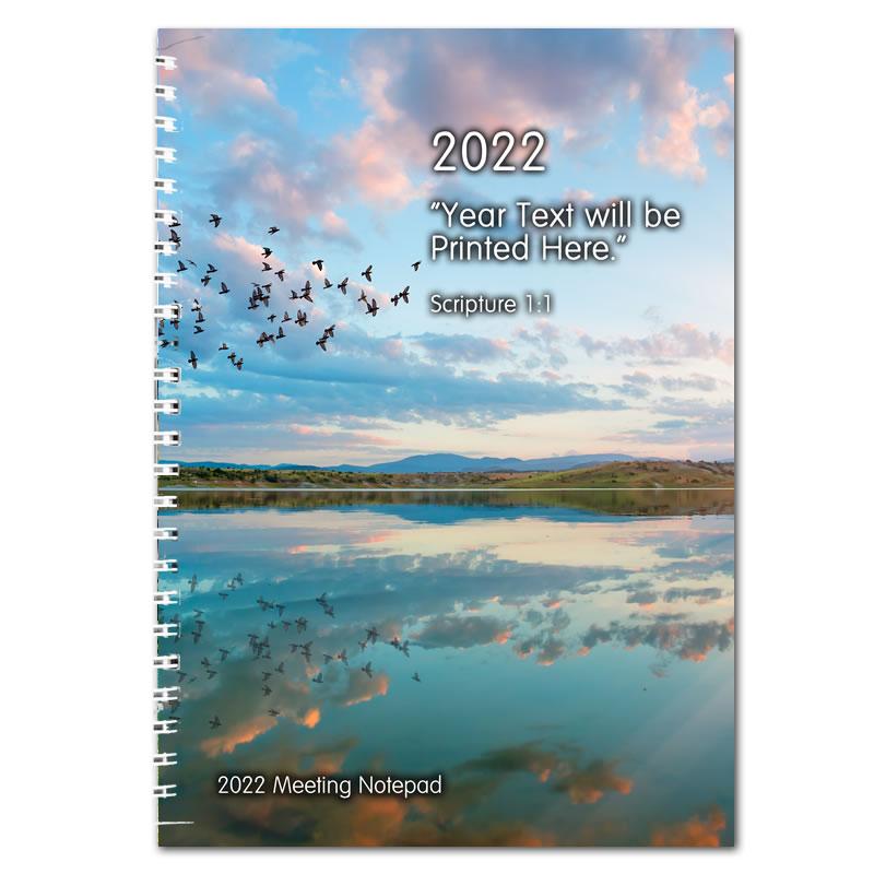 2022 Theocratic Meetings Notepad