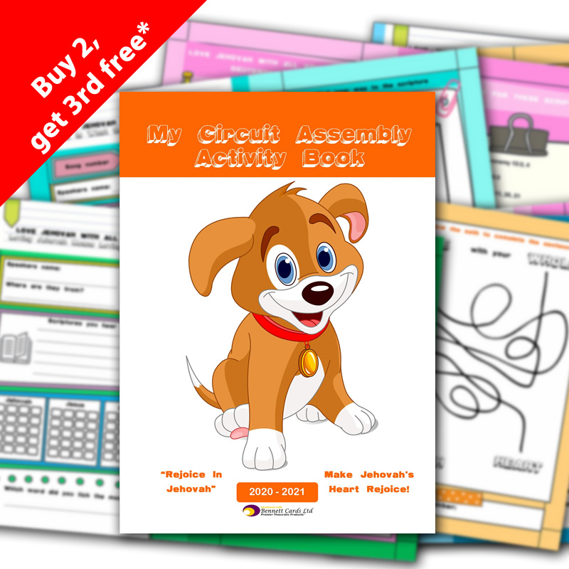2020-2021 Assemblies Notepad - for Children - with Programs - A5 Size
