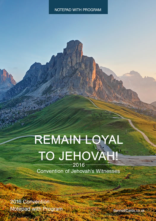 Jehovah's Witnesses Convention 2019 - a-k-b info