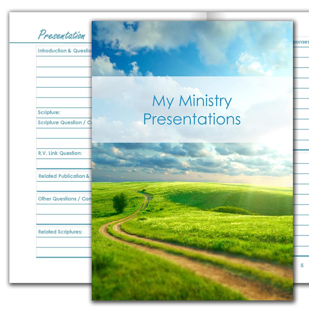 Ministry Presentations Planner