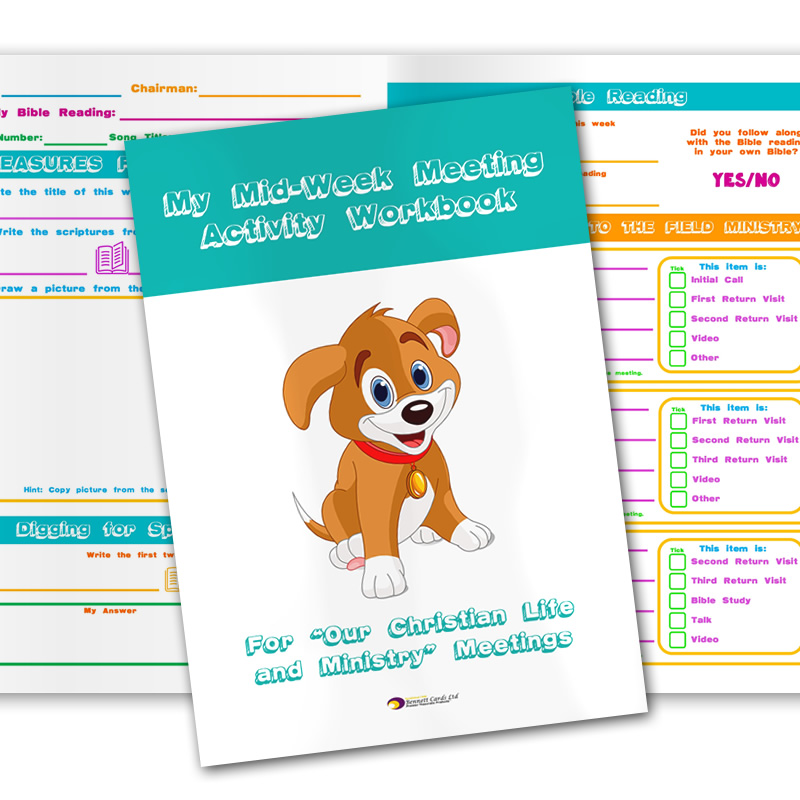 Notebook for Children - Mid-Week Meeting Workbook
