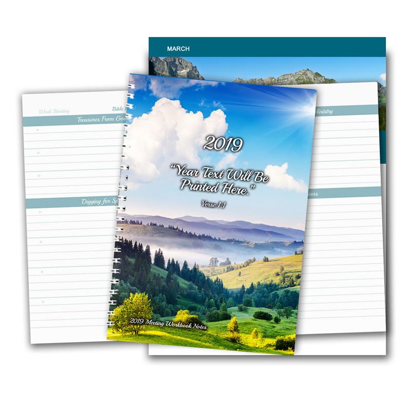 2019 Meeting Workbook Notepad