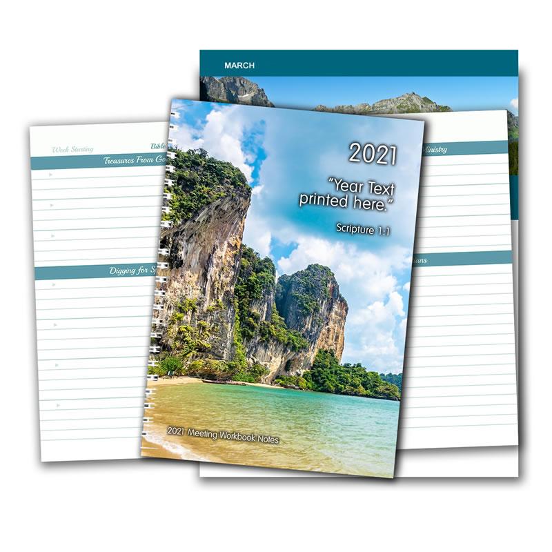 2021 Meeting Workbook Notepad