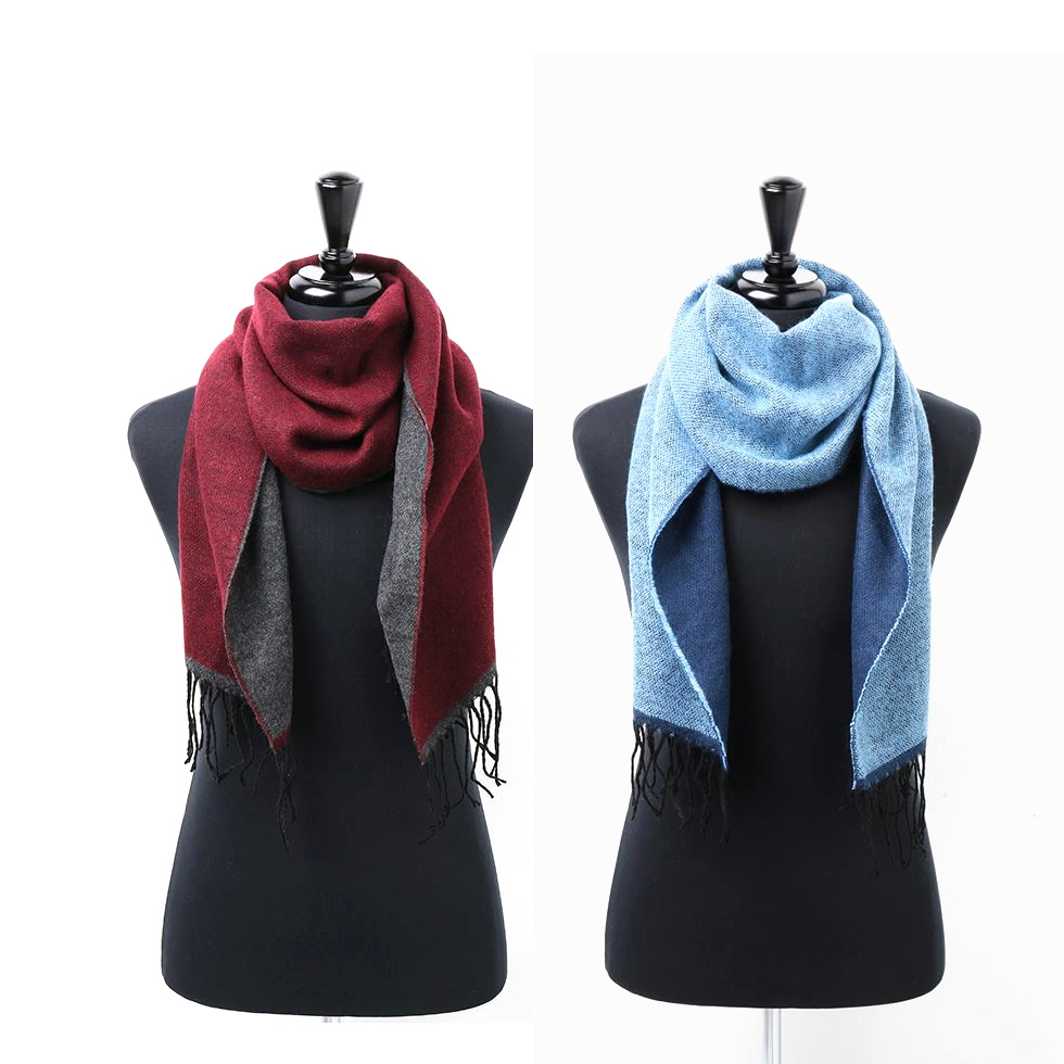Two Toned Soft and Warm Scarf Asquith and Fox