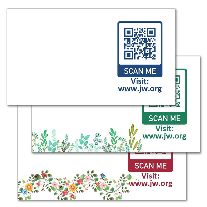 60 Stickers - JW.ORG QR Code