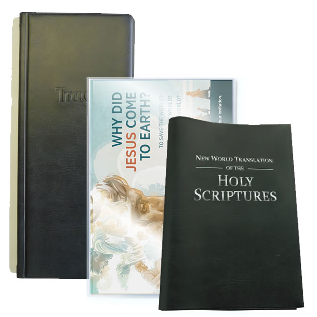 Ministry Folder Set - Save - Tract Folders + Pocket Bible Cover