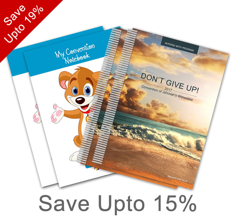 2017 Convention - Notepad Sets  - Select Set Size