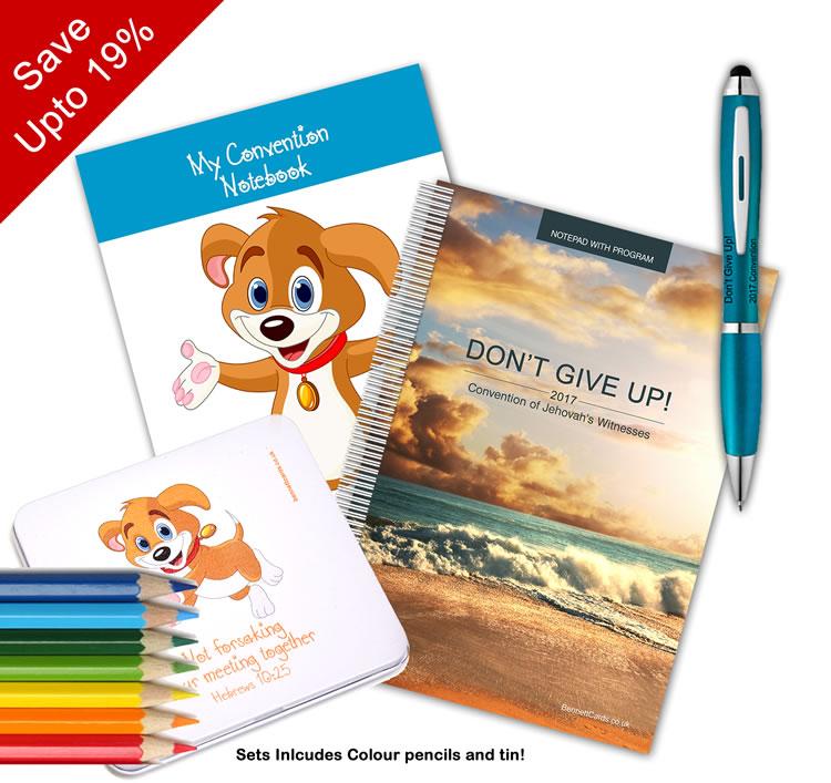2017 Convention - Notepad and Pen Bundle  - Select Bundle Size