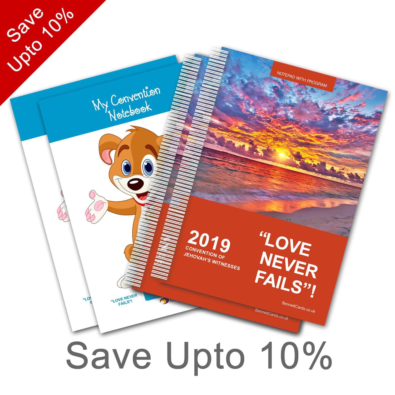 2019 Convention - Notepad Set - Select Bundle Size
