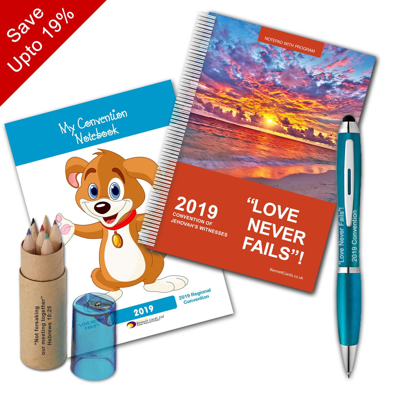2019 Convention - Notepad and Pen Bundle  - Select Bundle Size