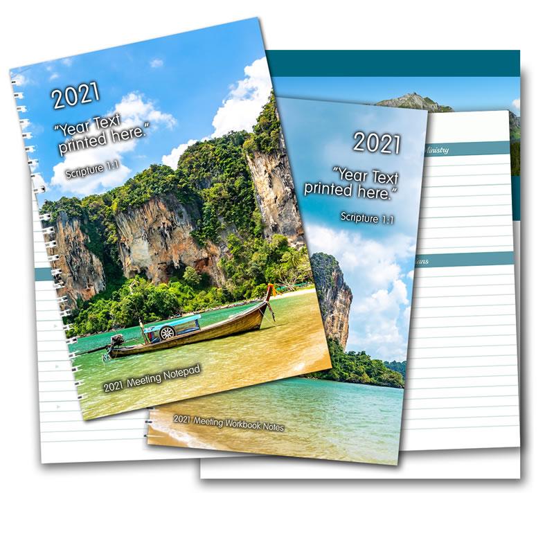 2021 Meeting Notepads Set - Save 17%