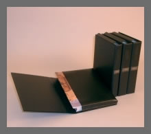 VINYL FILE FOR PERSONAL WATCHTOWER OR AWAKE MAGAZINES  - BLACK