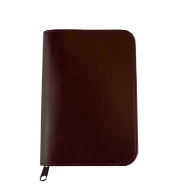 VINYL Faux Leather Cover -  Reasoning Book - Wine\ width=