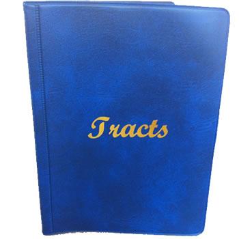 8 Pocket Tract Holder  - ANY COLOUR