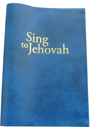 OLD SONG BOOK - Coloured Song Book - Small - BLUE  - BLUE