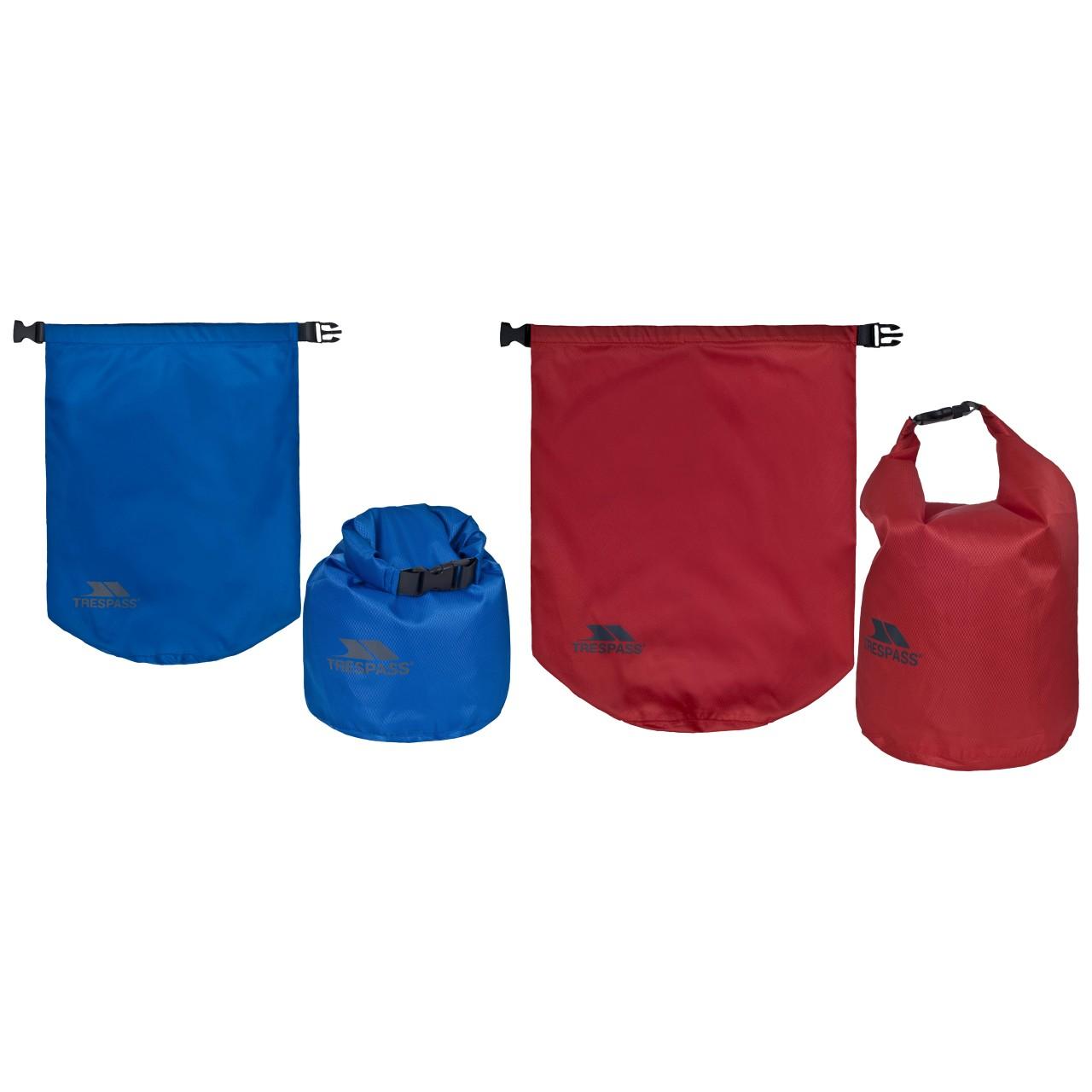 Trespass 2 Pack Dry Bags - Go Bag Item