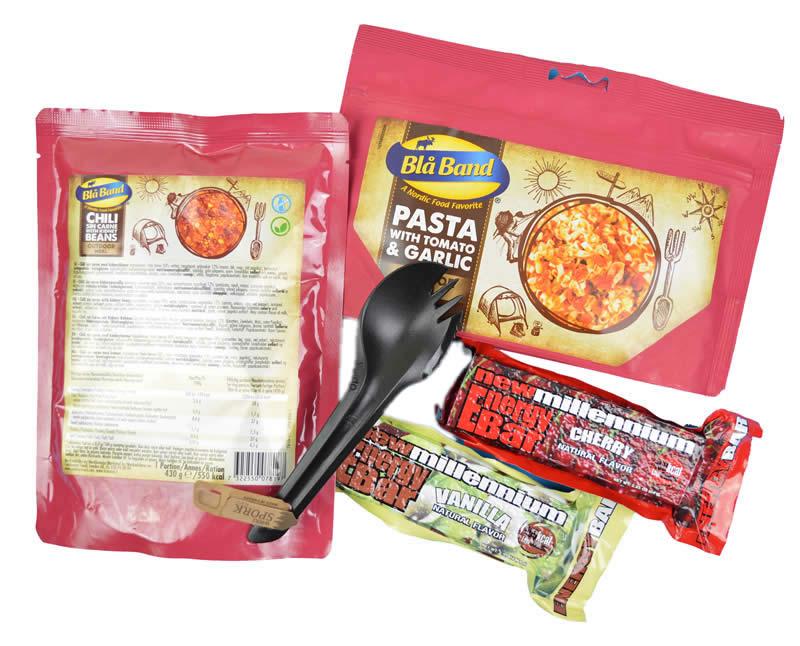 Vegetarian Food Pack for Go Bag