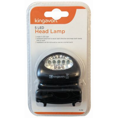 5 LED Emergency Bright Outdoor Lamp