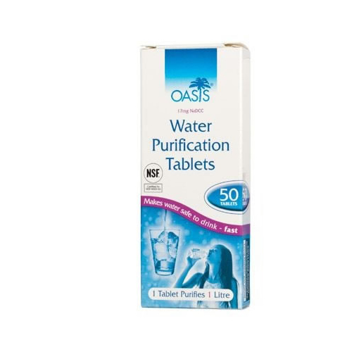 Water Purifying Tablets 1 Box (50)